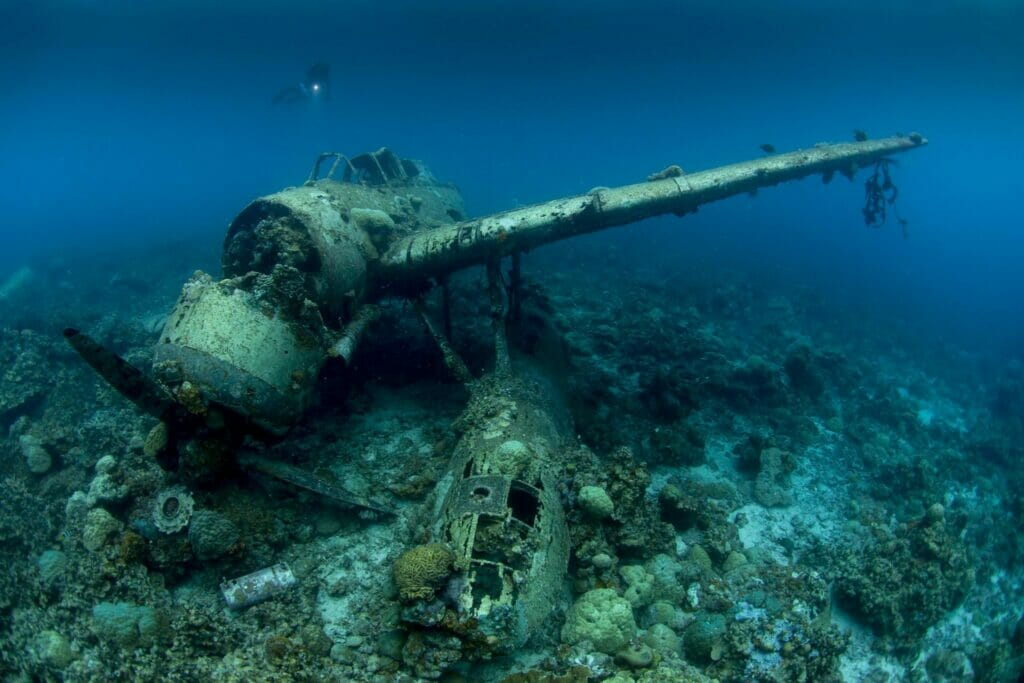 Wreck Diving Palau