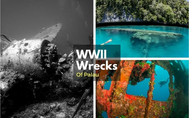 WWII ship Wrecks Palau