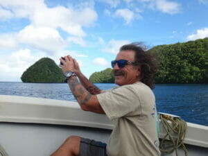 having fun with Palau dive advetures