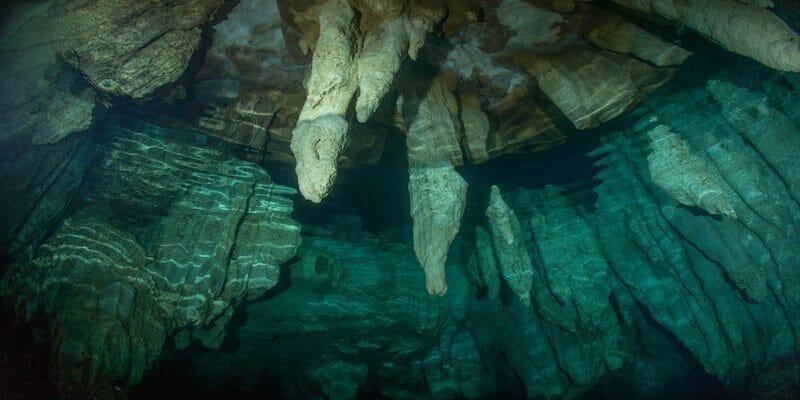 Dive Sites in Palau - Chandelier Cave