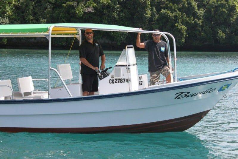 palau dive adventures boat