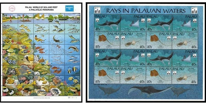 stamps of palau