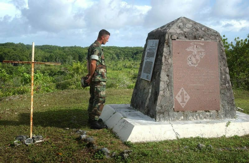 Bloody Nose Ridge Memorial Peleliu