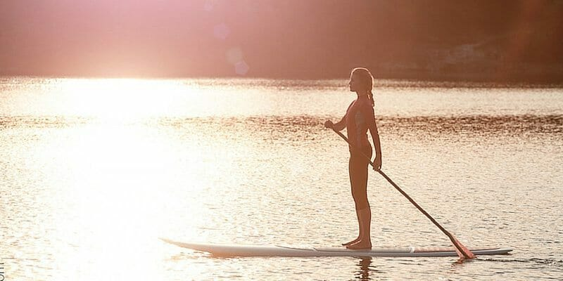 standup paddle boarding in Palau