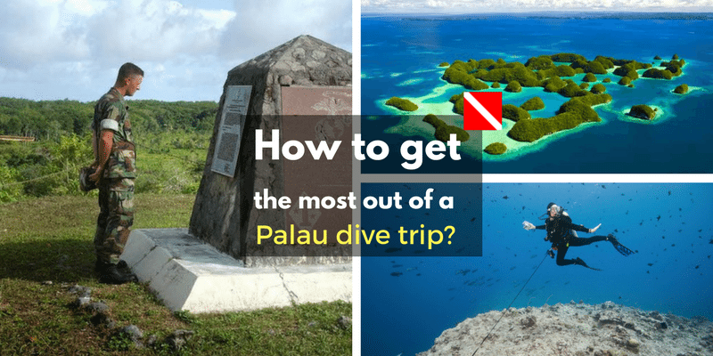 dive trip to Palau
