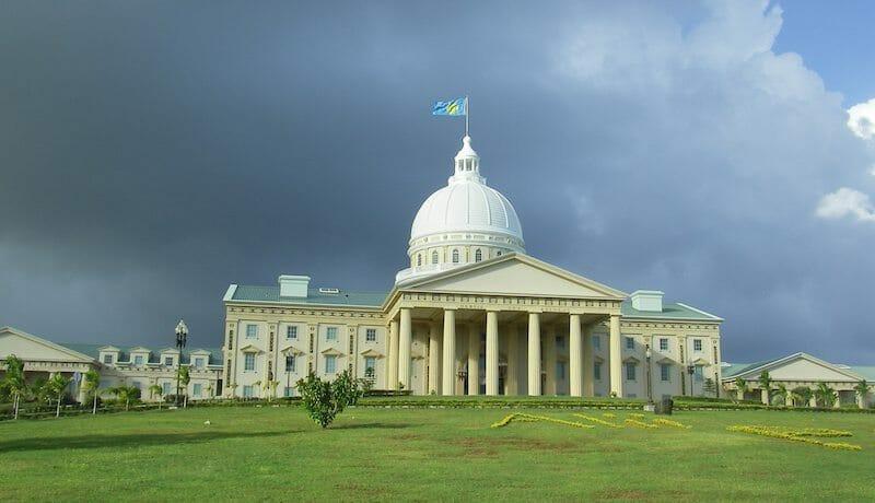 Palau's Capital building