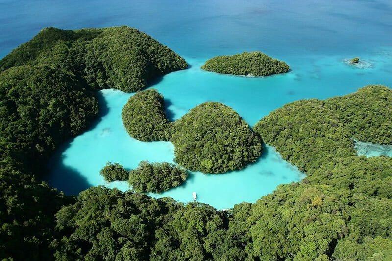 Milky Way Palau point of Interest