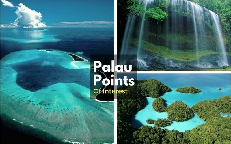 Palau points of interest
