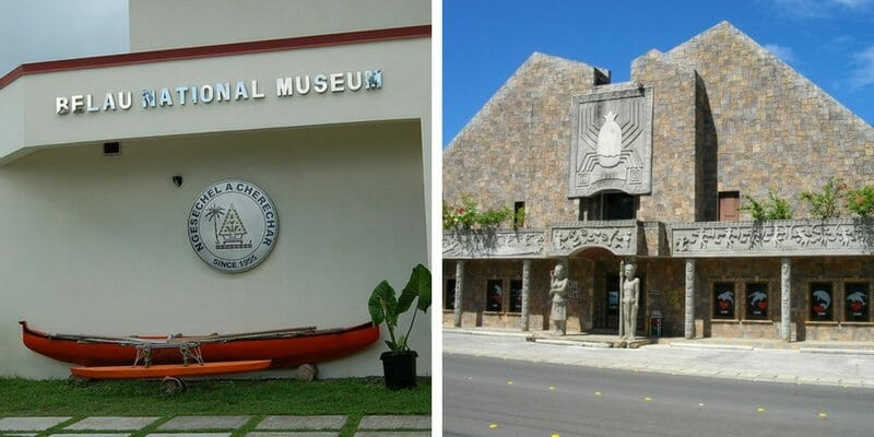 Palau points of interest museums