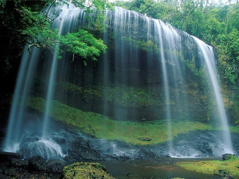 palau points of interest Waterfall