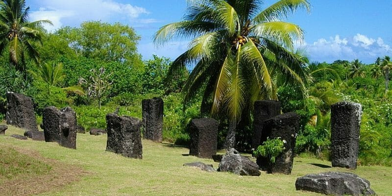 Palau points of interest monoliths