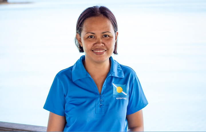Mary Ann Napil Palau Dive Shop Manager