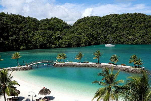 Palau dive package Royal resort hotel
